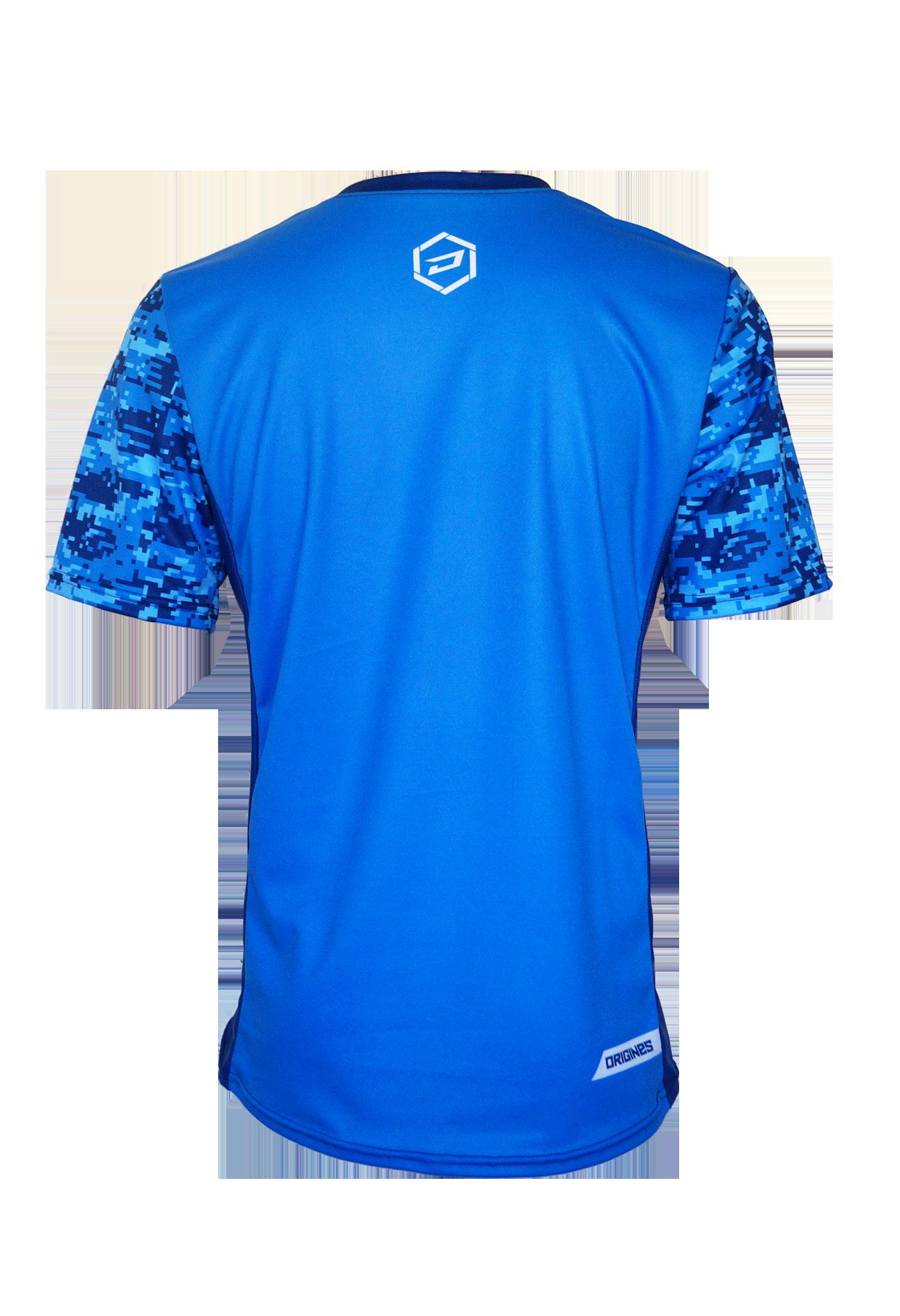 Digital bleu back