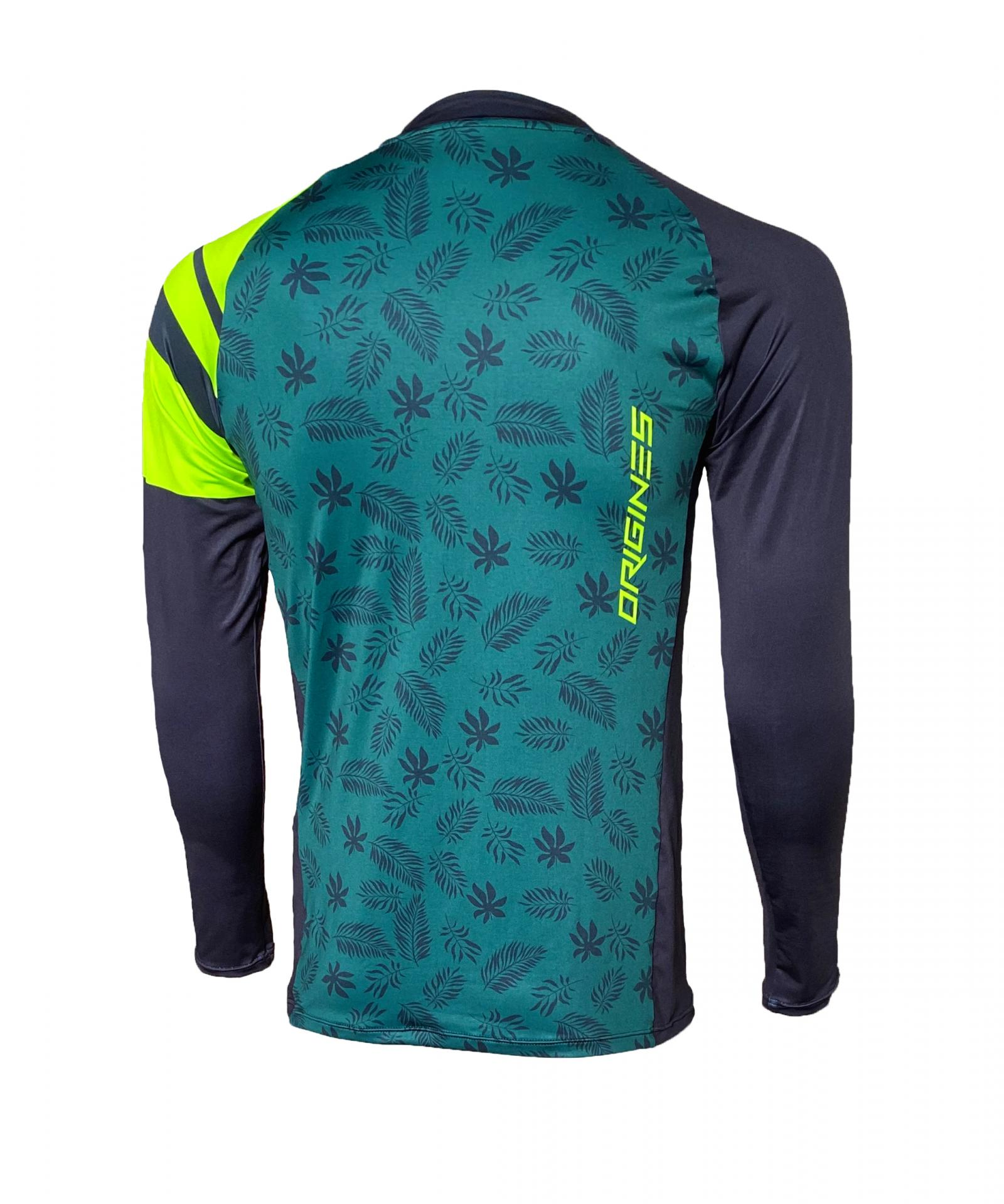 Jersey origines clothing enduro leaf back