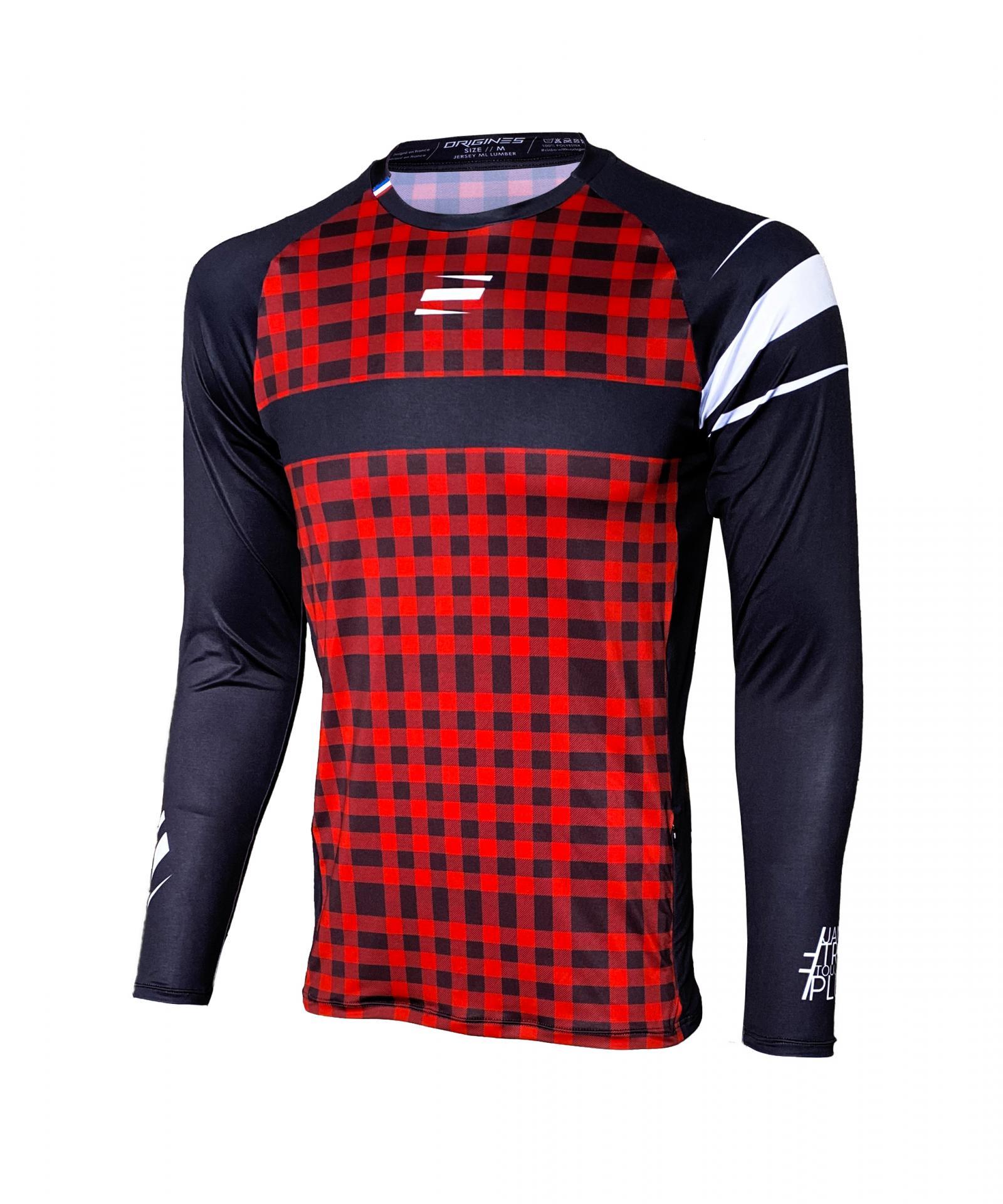 Jersey origines clothing enduro lumber front 1