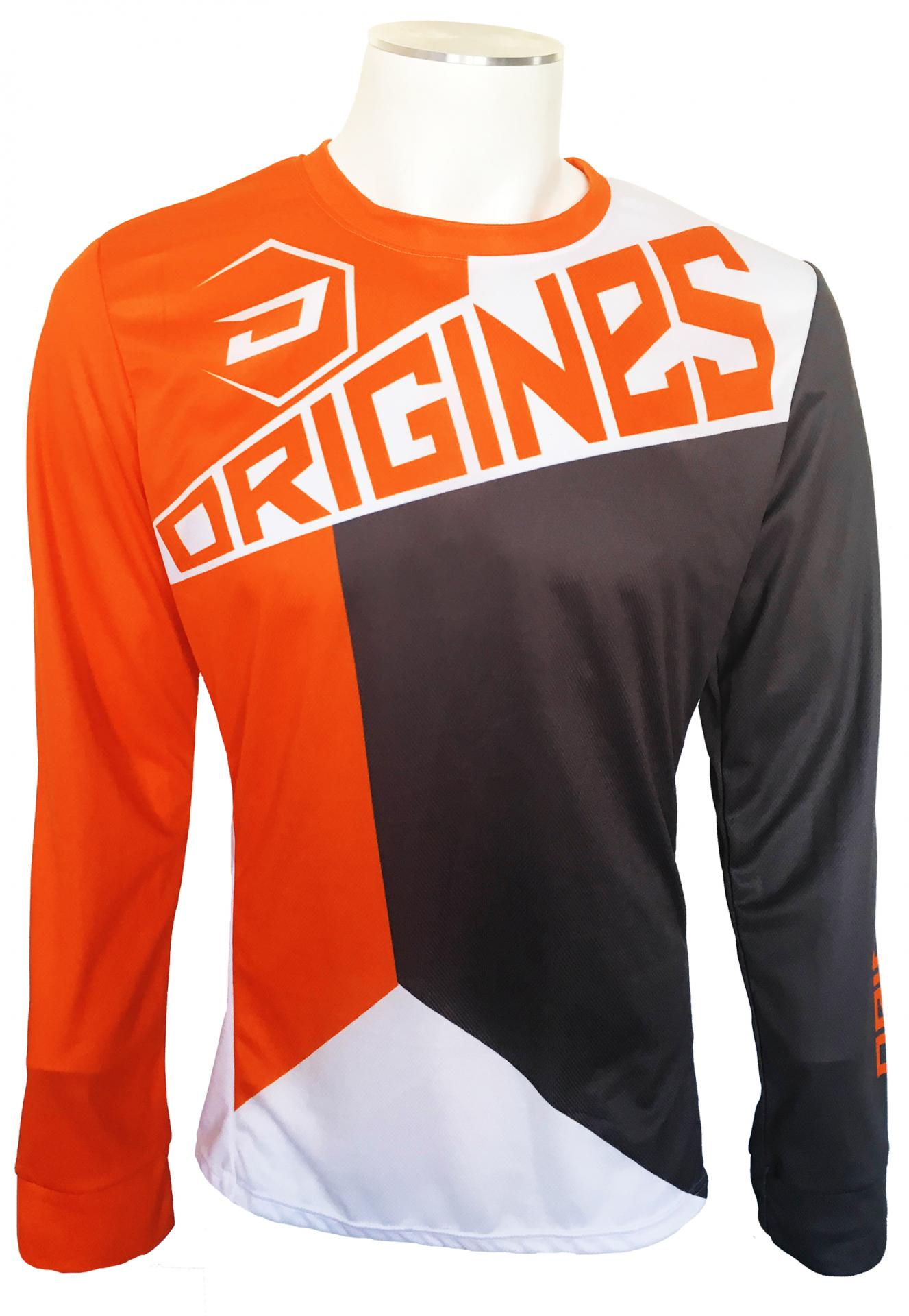 Maillot fraka orange face