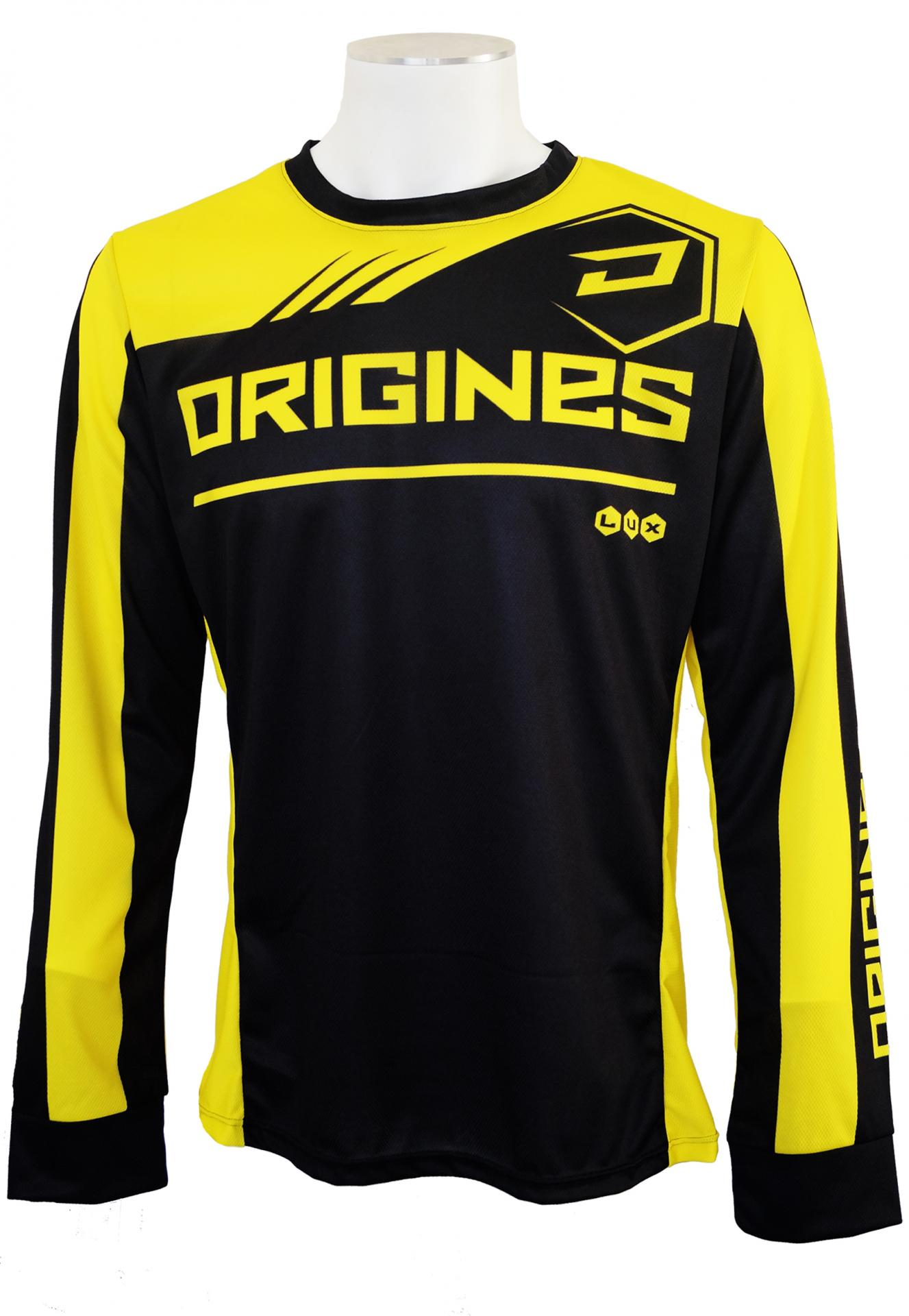 Maillot lux jaune face