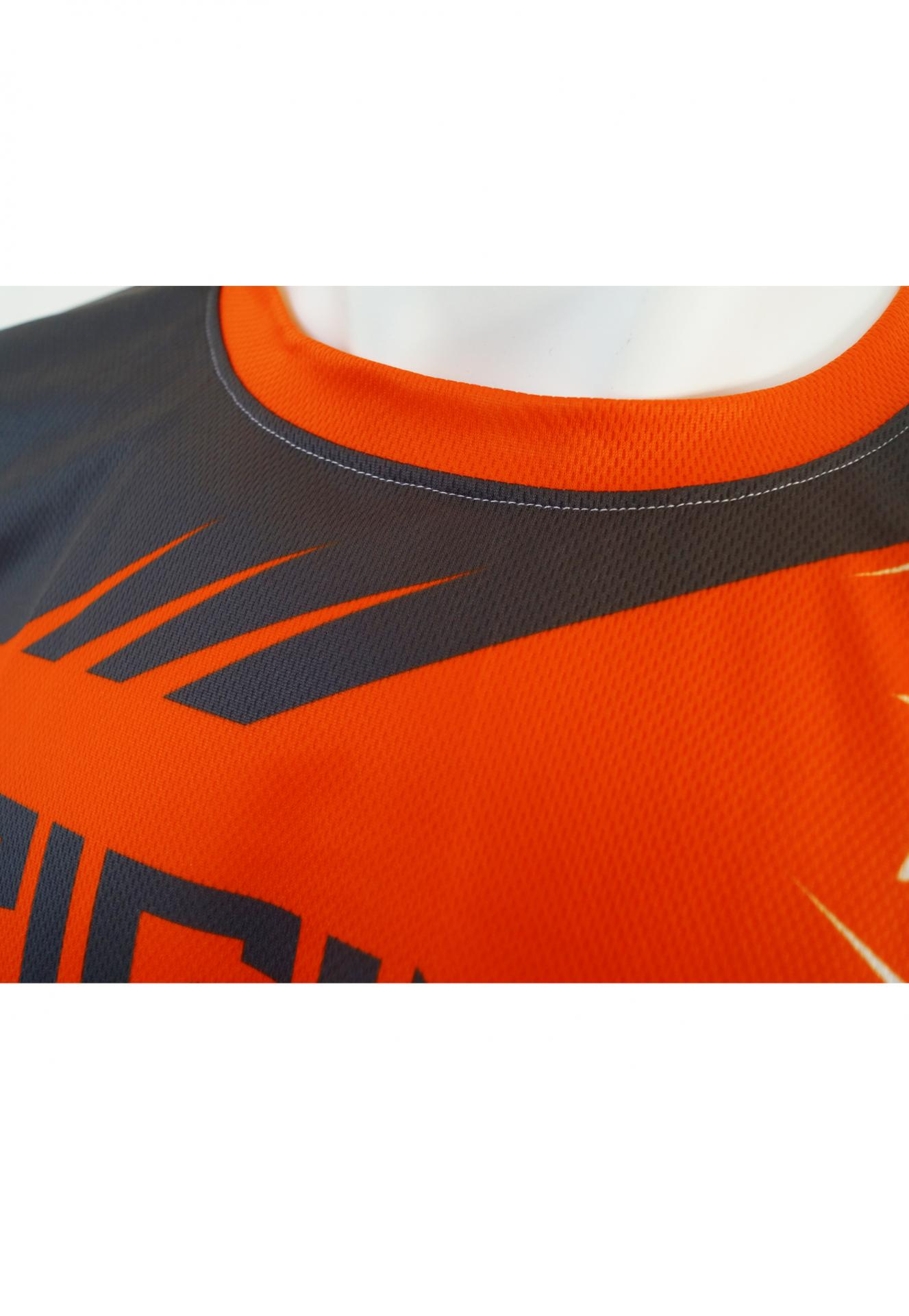 Maillot orange col