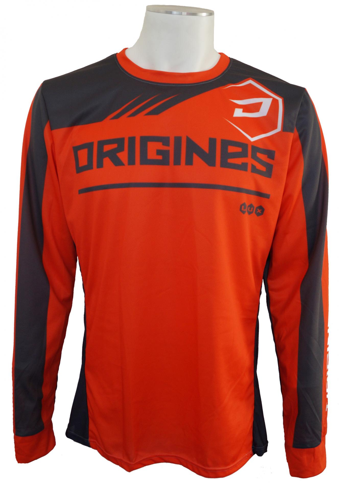 Maillot orange face