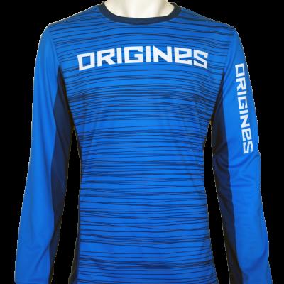 Origine bleu front
