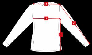 Size maillot perf Origines