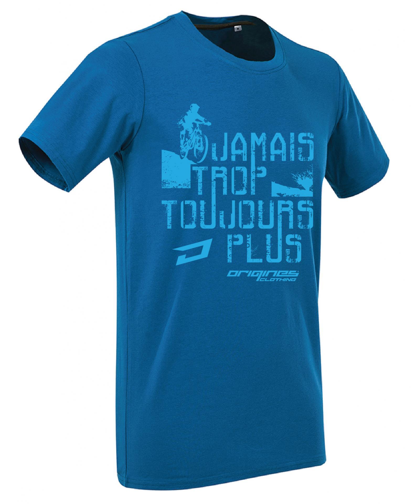 T shirt 2014 jttp bleu