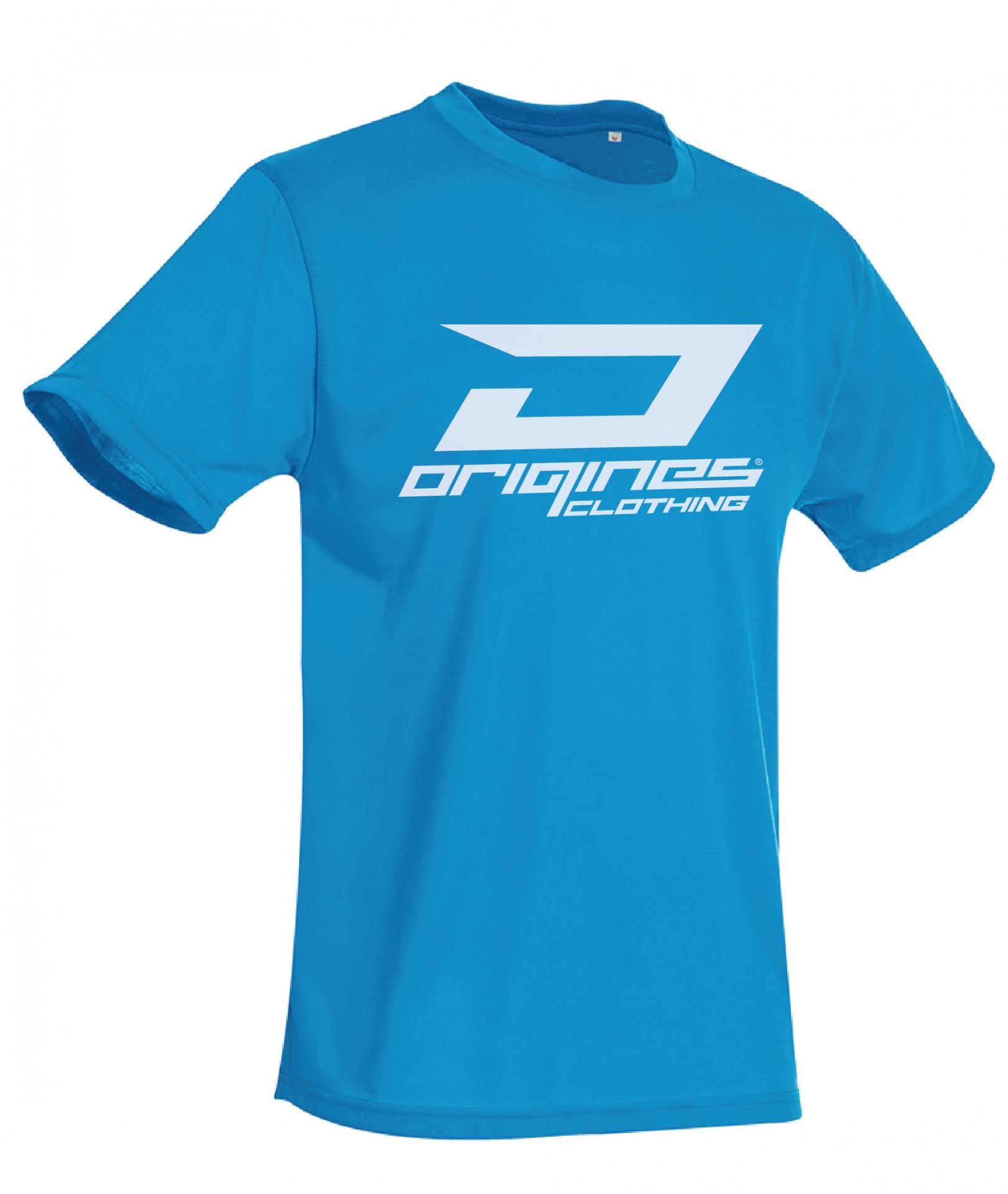 T shirt 2014 logo bleu